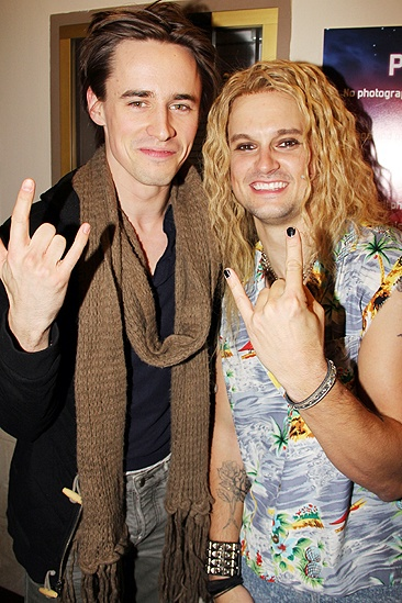 Diego Boneta at &lt;i&gt;Rock of Ages&lt;/i&gt; - Reeve Carney  Jeremy Woodard 