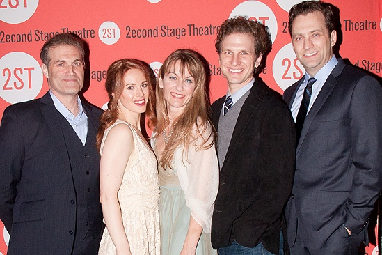 <i>The Blue Flower</i> opening night –  Marc Kudisch – Teal Wicks – Meghan McGeary – Sebastian Arcelus – Graham Rowat