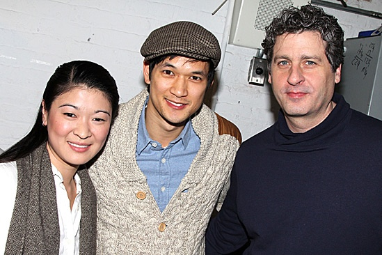 Harry Shum Jr. at Chinglish  Jennifer Lim  Harry Shum Jr.  Gary Wilmes 
