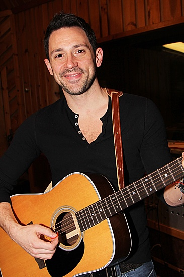 Once Cast Album Recording – Steve Kazee