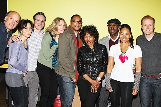 Angela Bassett Visits Clybourne Park – Frank Wood – Annie Parisse – Jeremy Shamos – Christina Kirk – Damon Gupton – Angela Bassett – Courtney B. Vance – Crystal A. Dickinson – Brendan Griffin