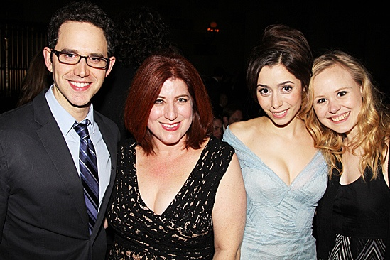 Once opening night – Santino Fontana – Anne L. Nathan – Cristin Milioti – Alison Pill