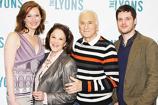 The Lyons Meet and Greet  Kate Jennings Grant  Linda Lavin  Dick Latessa  Michael Esper 
