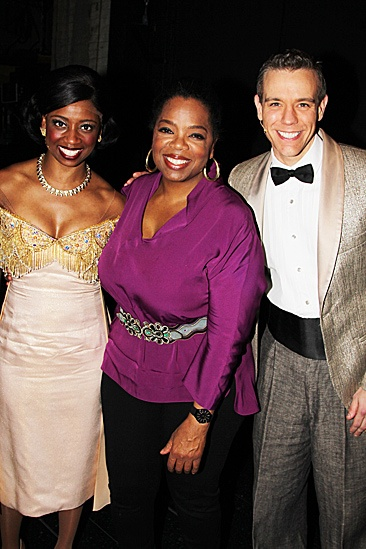 Hockadoo! Oprah can't get enough of the talented Montego Glover and ...