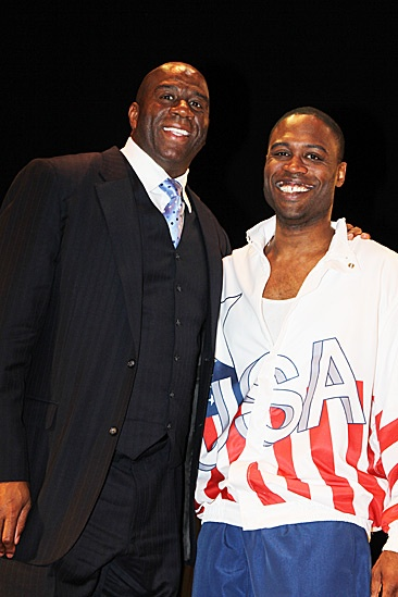 Magic.Bird Opening Night  Magic Johnson  Kevin Daniels 