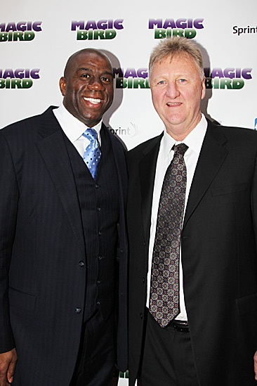 Magic.Bird Opening Night  Magic Johnson  Larry Bird