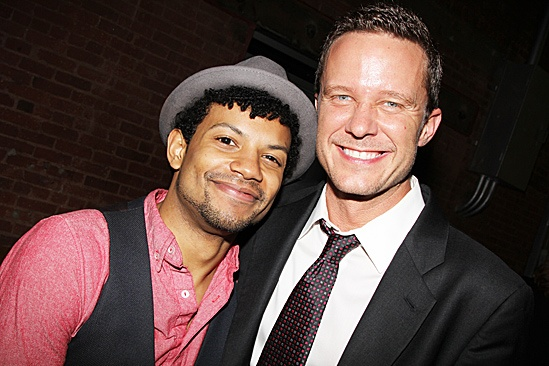 <i>Smash</i>'s Jaime Cepero and Will Chase love seeing a new musical live on stage.