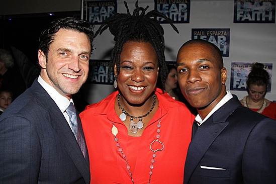 Leap of Faith Opening Night – Raúl Esparza – Kecia Lewis-Evans – Leslie Odom, Jr.