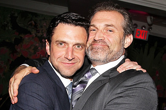 Leap of Faith Opening Night – Raúl Esparza –Marc Kudisch