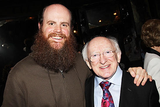 Irish President Visits Once –  Paul Whitty – Michael D. Higgins