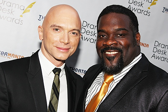 Drama Desk Awards 2012 – Michael Ceveris – Phillip Boykin