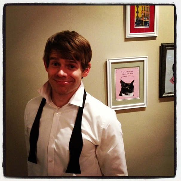 2012 Tony Awards Instagram Snapshots  Andrew Keenan-Bolger
