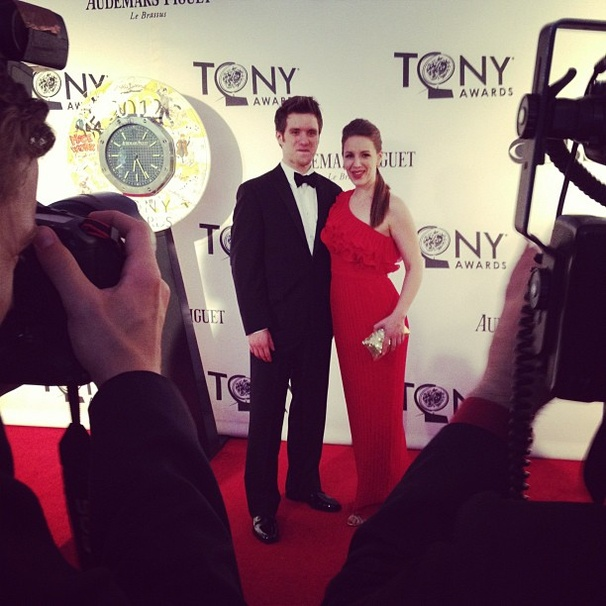 2012 Tony Awards Instagram Snapshots – Jessie Mueller – Andy Truschinski