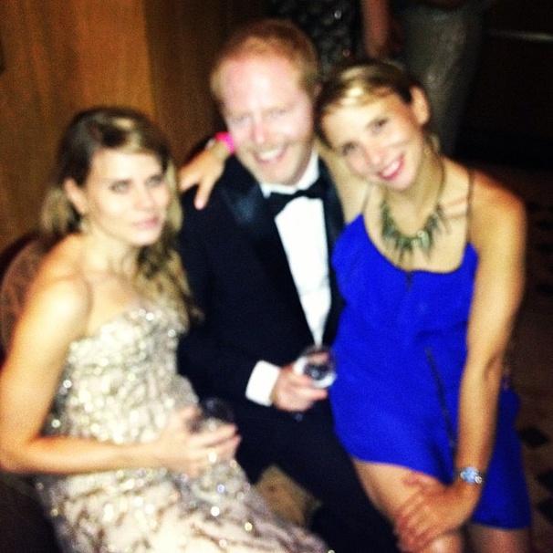 2012 Tony Awards Instagram Snapshots - Celia Keenan-Bolger – Jesse Tyler Ferguson - Sara Saltzberg