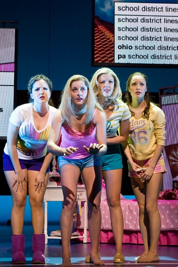 Show Photos - Bring It On: The Musical - Janet  Krupin - Tayor Louderman - Kate Rockwell - Elle McLemore
