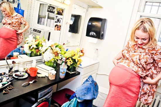 Backstage at Clybourne Park – Sarah Goldberg