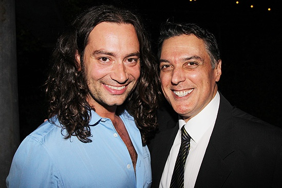 Robert Cuccioli Celebrates Spider-Man Debut – Constantine Maroulis – Robert