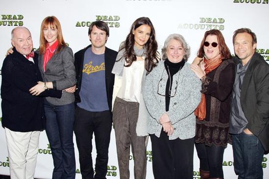 'Dead Accounts' Meet and Greet — Jack O'Brien — Judy Greer — Josh Hamilton — Katie Holmes — Jayne Houdyshell — Theresa Rebeck — Norbert Leo Butz