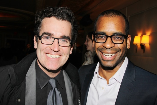 The Other Place – opening night – Brian d'Arcy James – Daniel Breaker