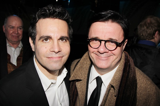 The Other Place  opening night  Mario Cantone  Nathan Lane 