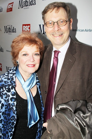 Matilda – Opening Night – Anita Gillette – Barry Kleinbort