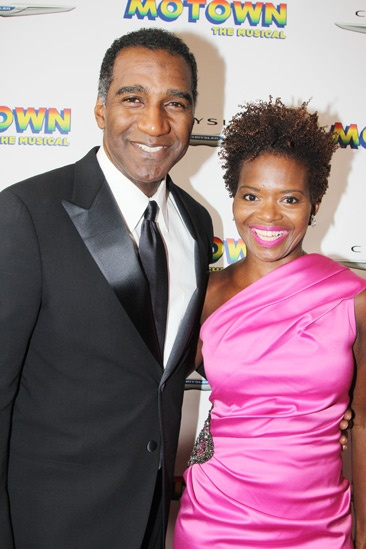 'Motown' Opening Night — Norm Lewis — LaChanze