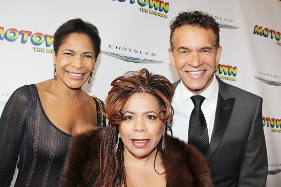'Motown' Opening Night — Allyson Tucker — Brian Stokes Mitchell — Valerie Simpson