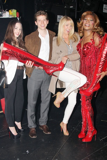 <i>Kinky Boots</i> - Alexa Ray Joel - Stark Sands - Christie Brinkley - Billy Porter