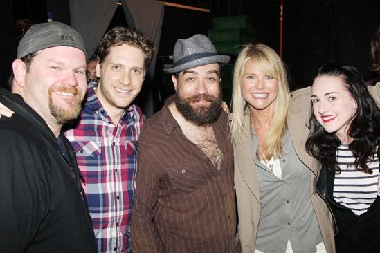 <i>Kinky Boots</i> - Daniel Stewart Sherman - Andy Kelso - Eric Anderson - Christie Brinkley - Celina Carvajal
