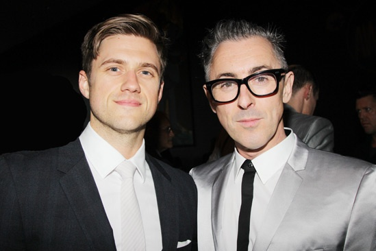 2013 Audience Choice Awards- Aaron Tveit- Alan Cumming