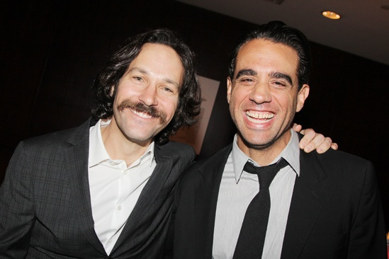 2013 Drama League Awards Luncheon — Paul Rudd — Bobby Cannavale