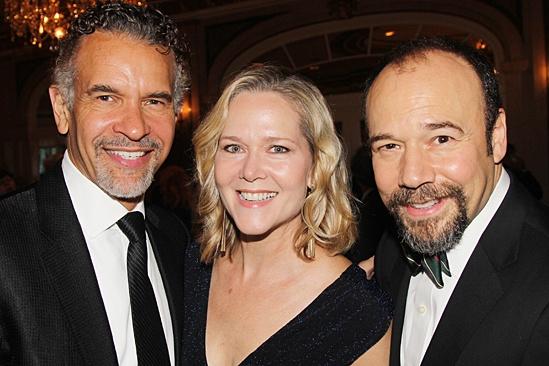 American Theatre Wing – Hal Prince Gala 2013 – Brian Stokes Mitchell – Rebecca Luker – Danny Burstein