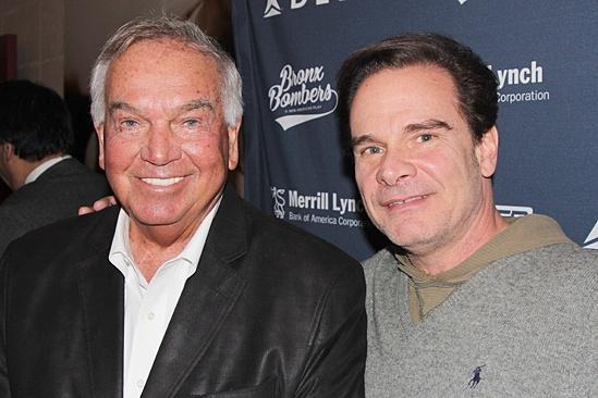 Bronx Bombers - Yankees Visit - OP - Bobby Richardson - Peter Scolari