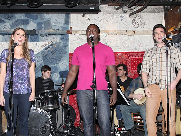 Violet - Meet and Greet - OP - 3/14 - Sutton Foster - Joshua Henry - Colin Donnell