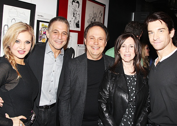 Orfeh - Tony Danza - Billy Crystal - Janice Crystal - Andy Karl