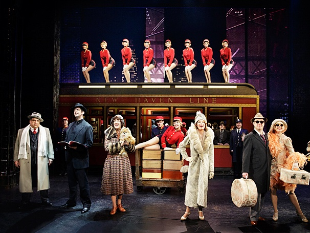 Bullets Over Broadway - Show Photos - PS - 4/14 - Vincent Pastore - Nick Cordero - Karen Ziemba - Marin Mazzie - Brooks Ashmanskas - Helene Yorke