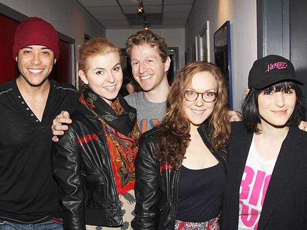 Heathers - recording - OP - 4/14 - Dan Domenech - Charissa Hogeland - Dustin Sullivan - Rachel Flynn - Molly Hager