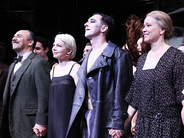 Cabaret - Opening - OP - 4/14 - Danny Burstein - Michelle Williams - Alan Cumming - Linda Emond