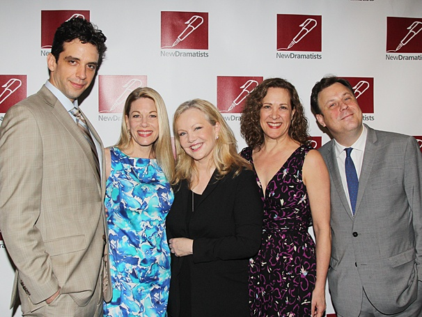 Nick Cordero - Marin Mazzie - Susan Stroman - Karen Ziemba - Brooks Ashmanskas