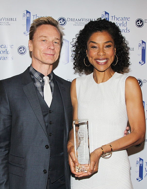 Theatre World Awards - OP - 6/14 - Ben Daniels - Sophie Okonedo