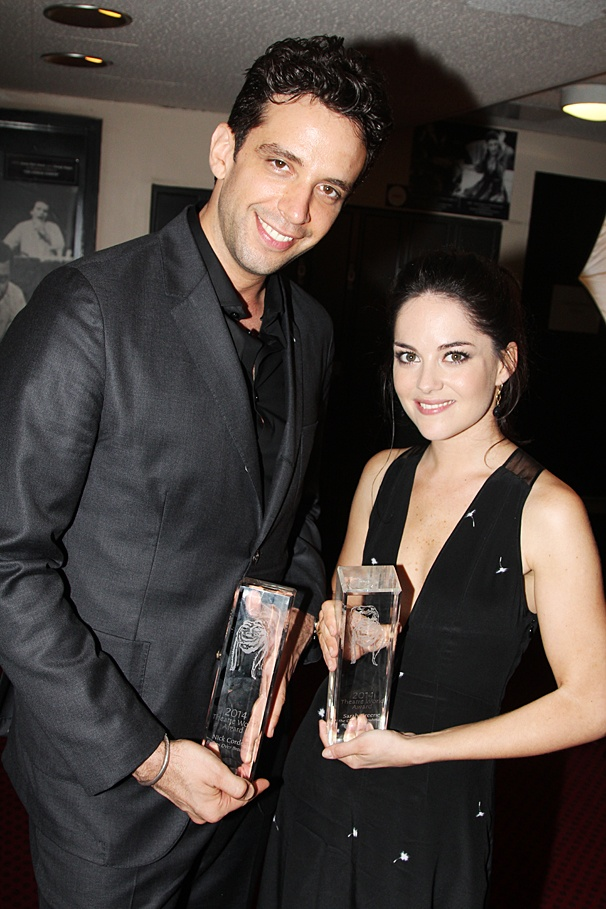 Theatre World Awards - OP - 6/14 - Nick Cordero - Sarah Greene