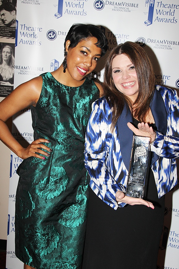 Theatre World Awards - OP - 6/14 - De'Adre Aziza - Mary Bridget Davies