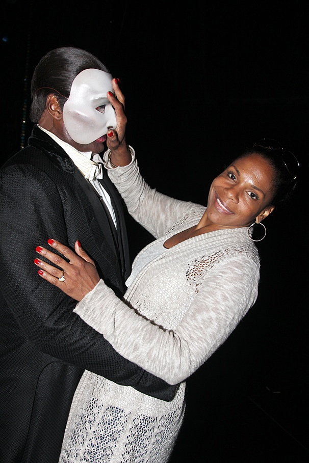 Phantom of the Opera - Backstage - OP - 6/14 - Norm Lewis - Audra McDonald