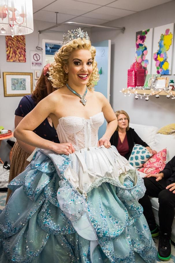 Broadway Com Photo 14 Of 19 Exclusive Photos Go Backstage With Caroline Bowman Amp Kara