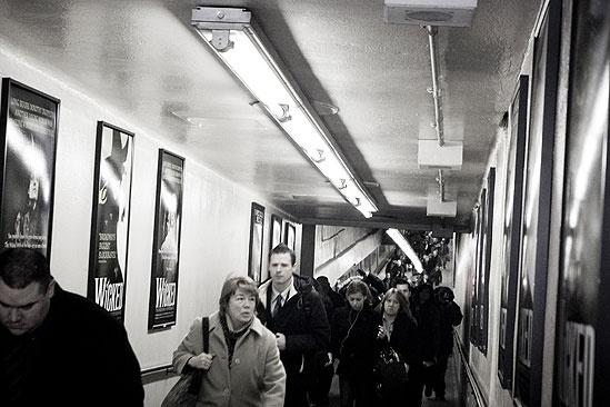 Wicked Grand Central – hallway