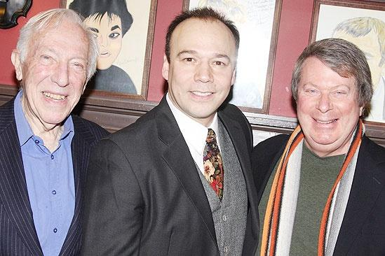 Danny Burstein Honored at Sardi's – Danny Burstein – Andre Bishop – Bernard Gersten