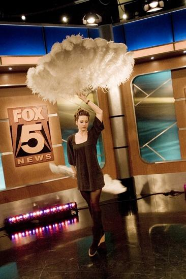 Tom Wopat at Fox 5 – Jill Nicklaus feather