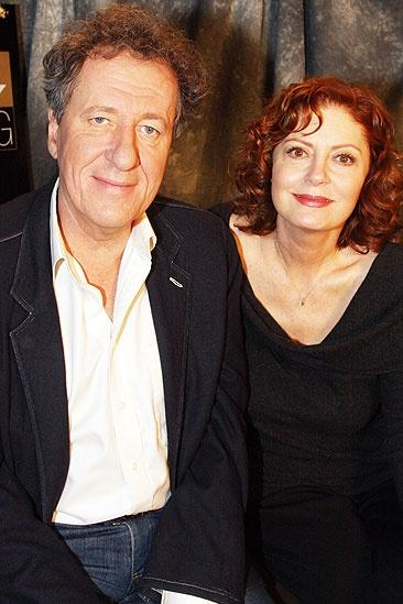 Exit the King Meet and Greet – Geoffrey Rush – Susan Sarandon