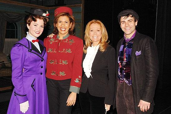 Kathie Lee Gifford and Hoda Kotb Moonlight at Mary Poppins – Kathie Lee Gifford – Hoda Kotb – Scarlett Strallen – Adam Fiorentino