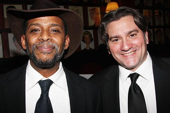 Blithe Spirit Opening Night – Darnell Williams – Anthony Barrile
